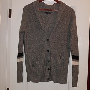 American Eagle Outfitters grey button down sweater